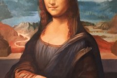 Mona Lisa by Steve Weed after Leonardo Da Vinci