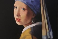 Pearl Earring by Steve Weed after Vermeer